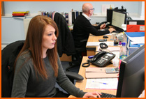 Dedicated service team at Hycontrol
